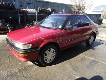 1990 Toyota Corolla VERY LOW KS AUTO ONE OWNER CHEAP!!! Loganlea Logan Area Preview