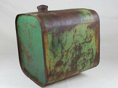 Antique John Deere 20 Gallon Fuel Tank With Cap 18.75 X 18.25 X 15.75