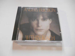 "Anders Eriksson ""Within Reach"" Rare Indie AOR cd 1997 Selfproduced Canada - Italia - L'oggetto può essere restituito - Italia"