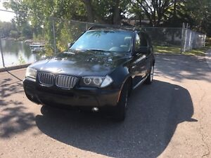 2007 BMW X3 with M package