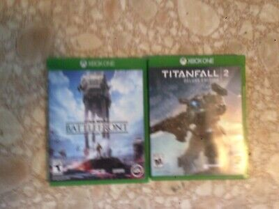 Two, XBox One Games: Star Wars Battlefront &  titanfall 2, Deluxe Edition