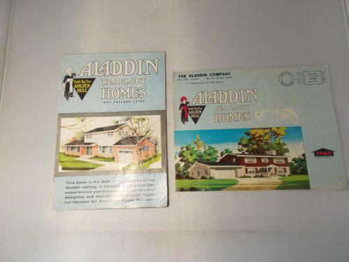 Two 1962 & 1965 Aladdin Readi-Cut Home Catalogs