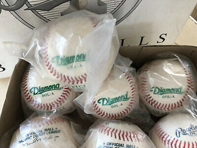 Diamond DOL-A NFHS and OLB-5 Baseballs  M20