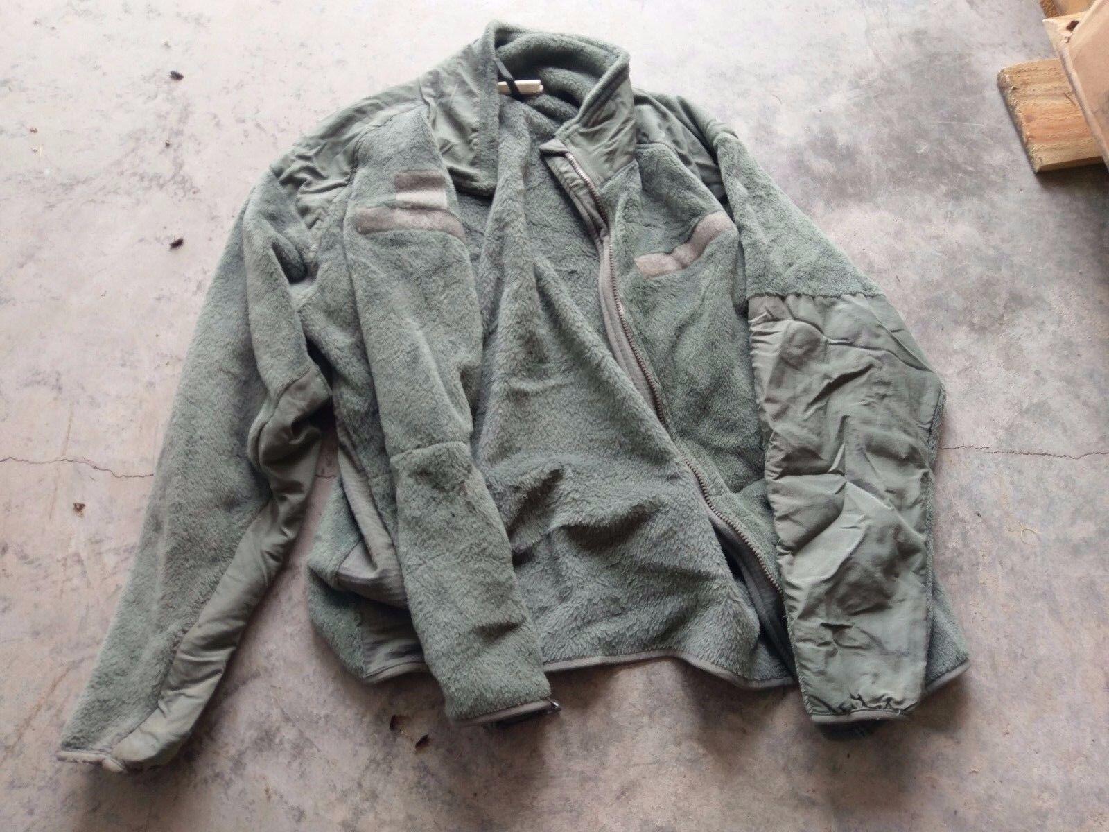 US Army Jacke ECWCS GEN III Polartec Fleece Jacke Cold Weather Large Regular