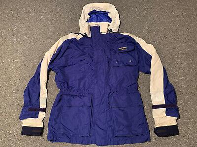 Vintage Polo Sport Ralph Lauren USA Flag Winter Jacket Sz S Hooded Ski Snow