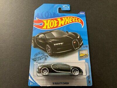 Hot Wheels Bugatti Chiron 2016 Black 89/250 1/64