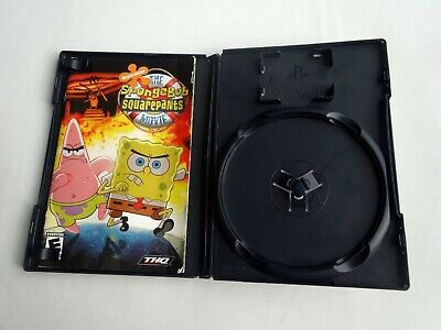 Playstation 2 PS2 SpongeBob Squarepants Movie *Case/Manual/Insert Only* No Game, used for sale  Shipping to India