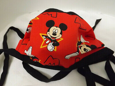 Home Made Tie Face Mask Disney Mickey Mouse      24F