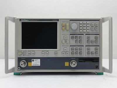 Anritsu 37247d - Vector Network Analyzers - 40 Mhz To 20 Ghz