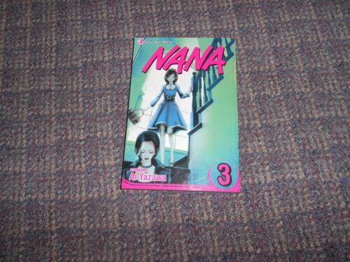 Nana Manga Volume 3 English Shojo Beat Edition by Ai Yazawa --B17