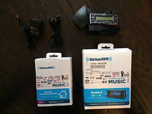 Sirius XM  car and home kit
