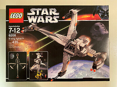 Lego Star Wars Iconic B-Wing Fighter 6208, New In Sealed Box