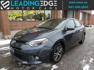 2016 Toyota Corolla LE Upgrade PKG, Sun Roof, Alloys
