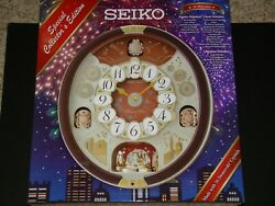 Seiko Special Collector Edition 24 Melodies In Motion Music Wall Clock **NEW**