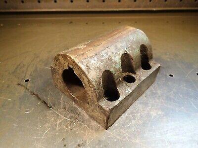1-78 Id Keyed Bore Cnc Turret Lathe Boring Bar Tool Holder 6-bolt Flange Used