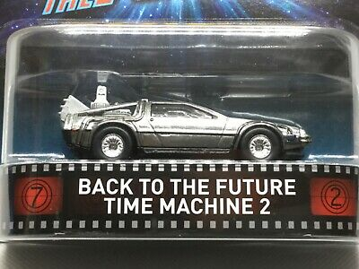 Hot Wheels Replica Entertainment Back to the Future Time Machine 2
