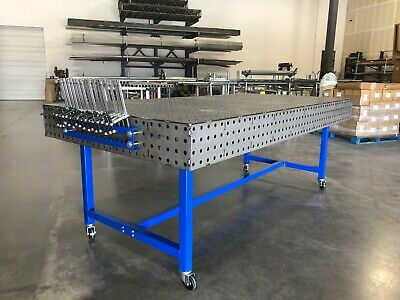 48x96 Welding Table Fabrication Block Fixturing Workbench - Free Shipping