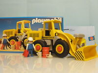 Playmobil Construcción Pala Cargadora Años 80 Ref 3458 -  - ebay.es