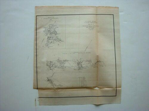 1851 Charleston Harbor & Kiawah Island SC Savannah GA 11 x 13 Coastal Survey Map