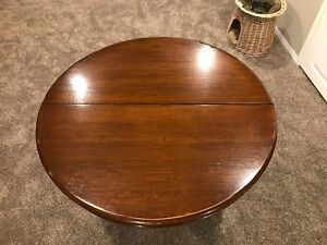 Antique Solid Oak Table & Chairs