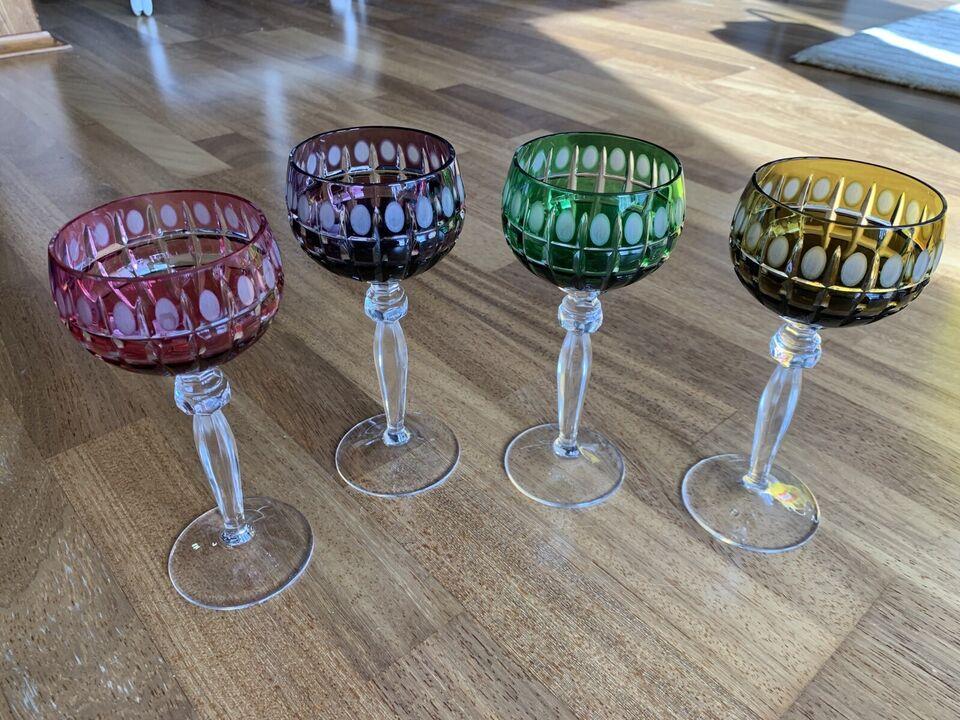 Kristallglas Bleiglas Kristall Weingläser Römer Kelche in Thüringen - Jena
