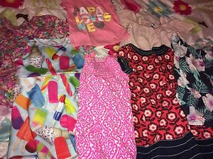 Box of size 3T girls summer clothes