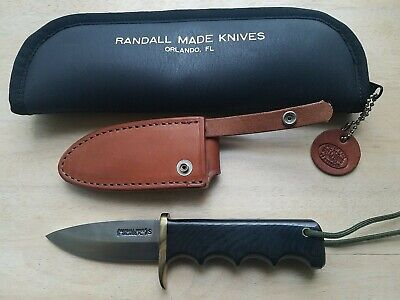 "Randall knife 4"" blade non catalog mint cond. with case and sheath made in 1999"