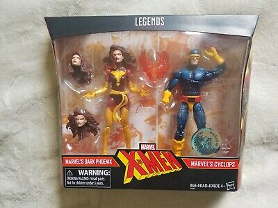 DARK PHOENIX CYCLOPS MARVEL LEGENDS 2 PACK NIB X-MEN TOYS R US