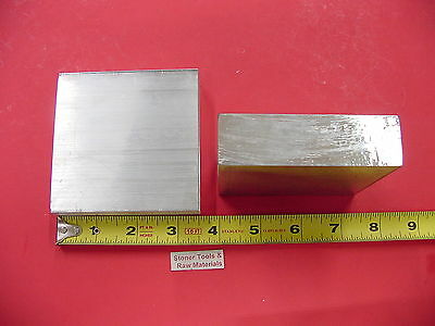 2 Pieces 1 X 3-12 Aluminum 6061 Flat Bar 3.5 Long T6 Solid Plate Mill Stock