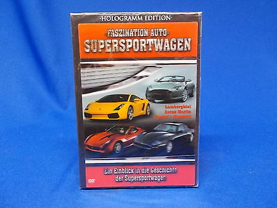 606) Video DVD Faszination Auto Supersportwagen Ferrari Maserati Aston Martin