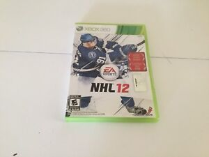 Xbox 360 NHL 12 game for $5