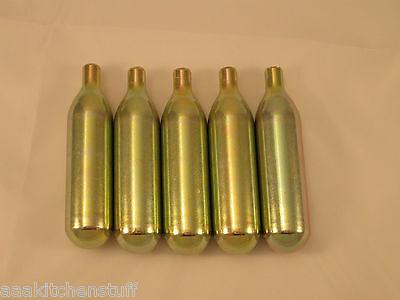 5 - 16g Co2 Non Threaded Cart 5 Pack C02 Keg Charger Soda Net Gun 16gco2n5