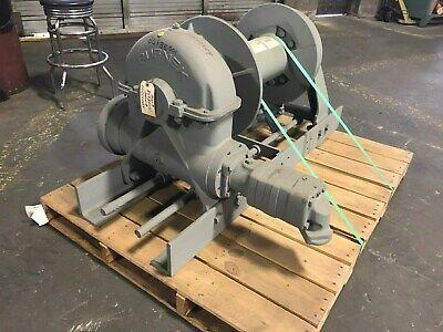 Tulsa Rufnek Winch 65000 Lbs Line Pull Hydraulic Worm Gear New Rn65wh-rfo