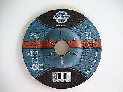 Schruppscheiben 125x6 mm  10 Stück NEU Schruppscheibe