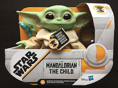 "Star Wars: The Mandalorian The Child ""Baby Yoda"" Talking Plush Doll Toy - NEW"