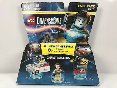 LEGO Dimensions 71228 GhostBusters Level Pack Ecto 1 Peter Venkman Ghost Trap