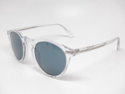 Oliver Peoples OV 5217S Gregory Peck Sun 1101R8 Crystal w/Indigo Sunglasses ()