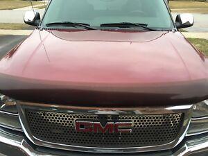 New black hood for 2004 GMC Sierra pick up