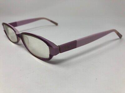 "BEBE ""MADE UP"" Eyeglasses Frame Plumeria 51-16-140 Light Pink Purple YZ08](Light Up Eyeglasses)"