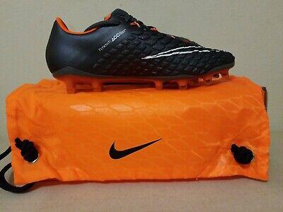 3fbb8d1189c New Nike Hypervenom Phantom 3 Elite FG Grey Soccer Cleats Mens US 7 Women  8.5