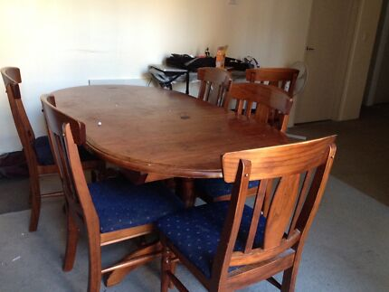 Dining Table with chairs $150 pick up now Sydney City Inner Sydney Preview