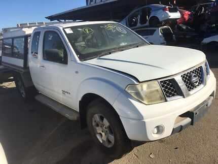 Wrecking Nissan Navara 2009 Ute white Rocklea Brisbane South West Preview