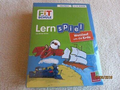 Fit für die Schule Lernspiel Deutsch 3 + 4 Klasse Neu Tessloff (Spiele Für Die Schule)
