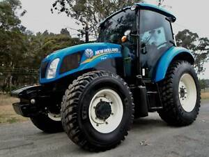 2015 New Holland T4.95 4X4 98 Agricultural Farm Tractor Austral Liverpool Area Preview