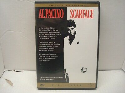 Scarface (Al Pacino) Collectors Edition (DVD, 1998) L N