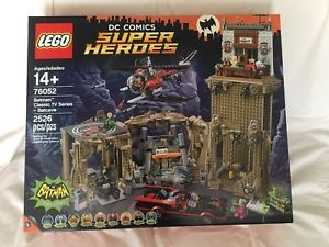 LEGO Batman 76052 Classic TV Series Batcave. New and Sealed
