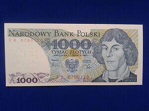 1000 ZLOTY 1982 POLAND - <span itemprop='availableAtOrFrom'>Skierbieszów, Polska</span> - 1000 ZLOTY 1982 POLAND - Skierbieszów, Polska