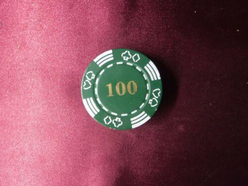 Green Casino Poker Chip 100 Refillable Butane Cigarette Lighter FREE SHIPPING