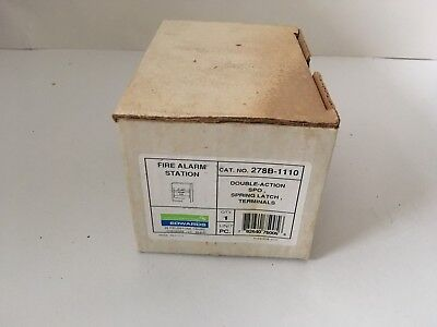 Nib New Est Edwards 278b-1110 Fire Alarm Pull Station