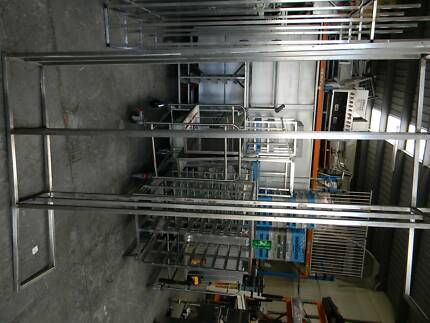 shelving and stainless steel. equipment
